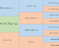アルメリアブルームの三代血統表