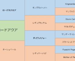ロードアクアの三代血統表