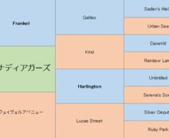 グレナディアガーズの三代血統表