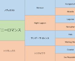 タイニーロマンスの三代血統表