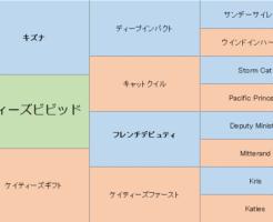ダディーズビビッドの三代血統表
