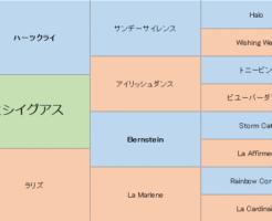 ヒシイグアスの三代血統表