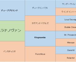 ナムラドノヴァンの三代血統表