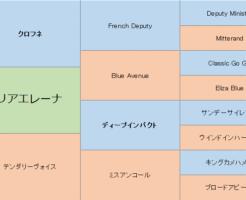 マリアエレーナの三代血統表